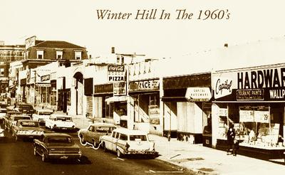 Winter Hill in Somerville in the 1960s when the Irish gang war started. (Courtesy of Bobby Martini)