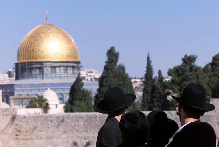 The Dome of the Rock Mosque, known to Jews as the Temple Mount in the Old City, Jerusalem (AP /Karel Prinsloo)