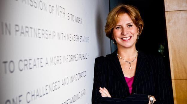 NPR's Board of Directors accepted Vivian Schiller's resignation.