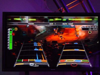 """Rock Band"" made by Cambridge-based Harmonix, was one of the games that faltered in 2010. (JoshMcConnell/Flickr)"