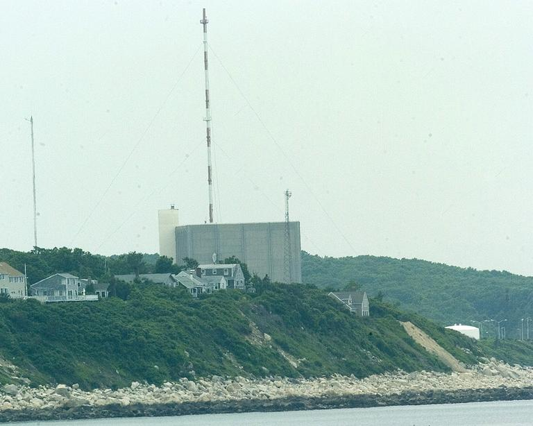 The Pilgrim Nuclear Power plant in Plymouth is on the Massachusetts coastline. (Courtesy)