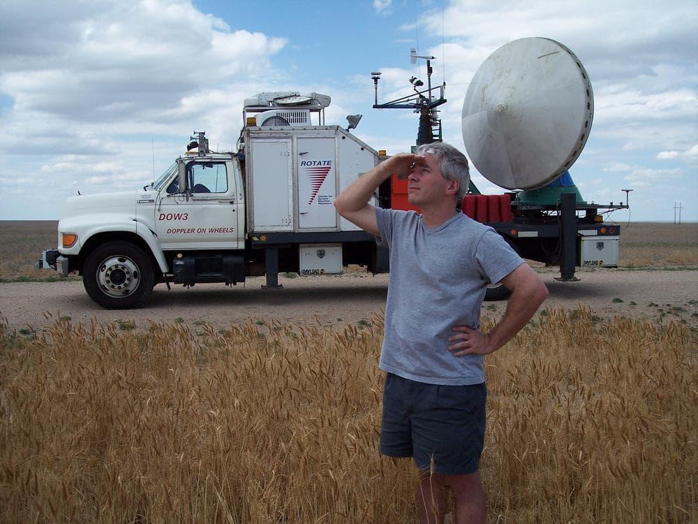Tornado Researcher Josh Wurman with the Doppler on Wheels. (Josh Wurman)