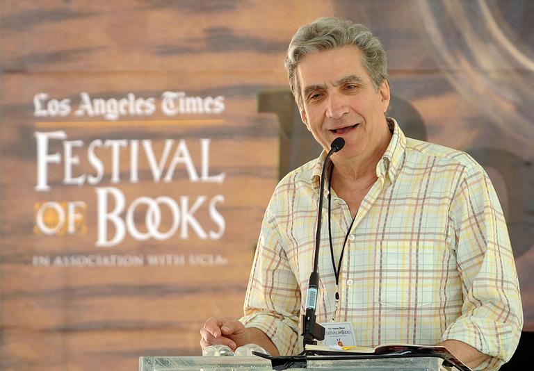 Former Poet Laureate Robert Pinsky attends the 2009 Los Angeles Times Festival of Books. (AP)