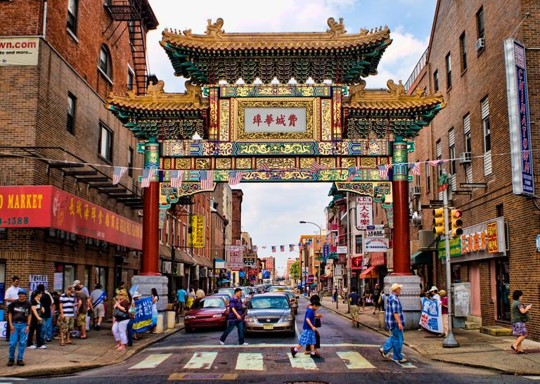 The entrance to Chinatown in Philadelphia (nixter/Flickr)