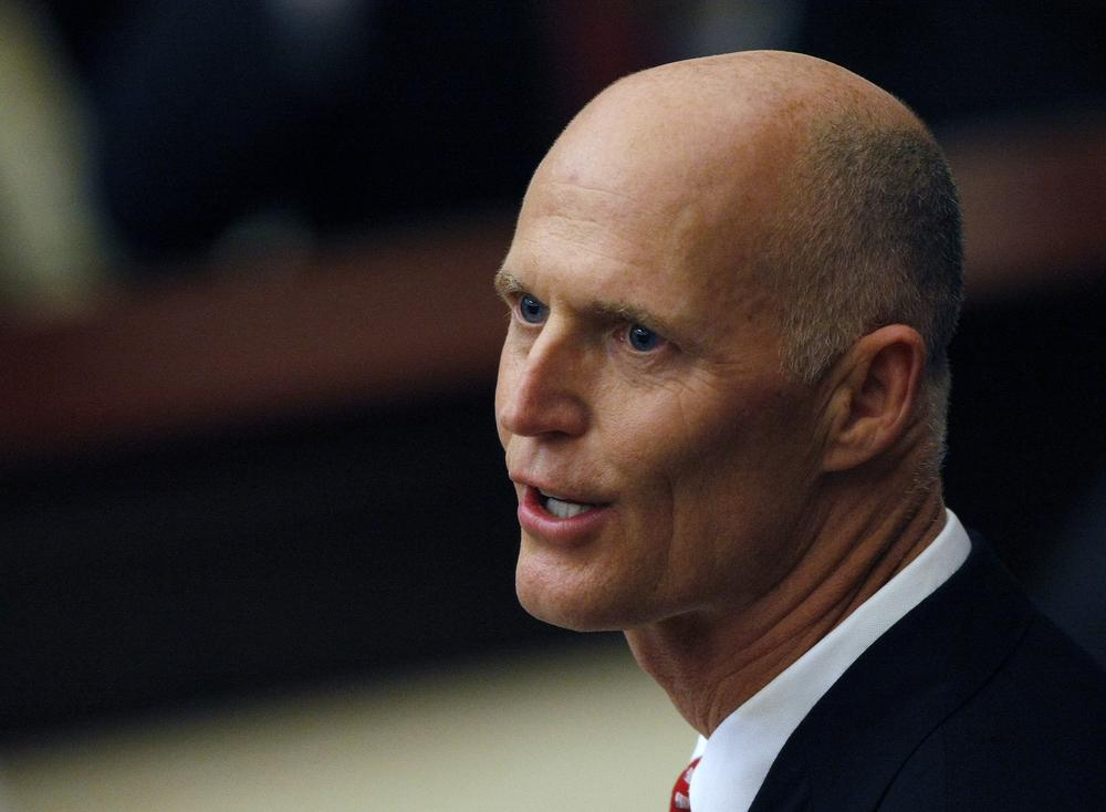 Florida Governor Rick Scott in Tallahassee, Fla. (AP)