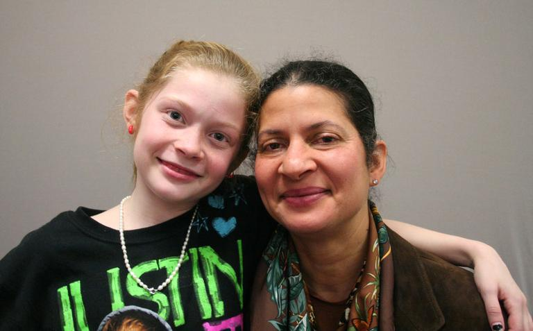 Rebecca Thomas Geary, right, and her daughter Sabine (Courtesy StoryCorps)