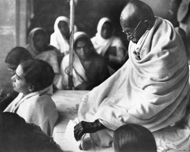 Mahatma Gandhi in India in 1948. (AP)