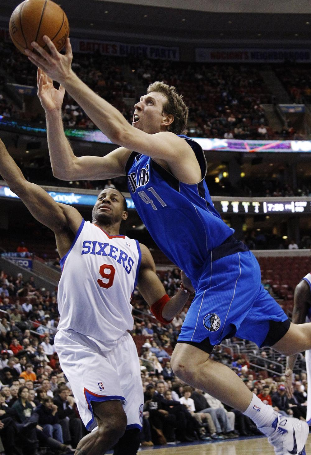 Dirk Nowitzki and the Dallas Mavericks are looking stronger by the day. Will they the opportunity to compete next season though?(AP)