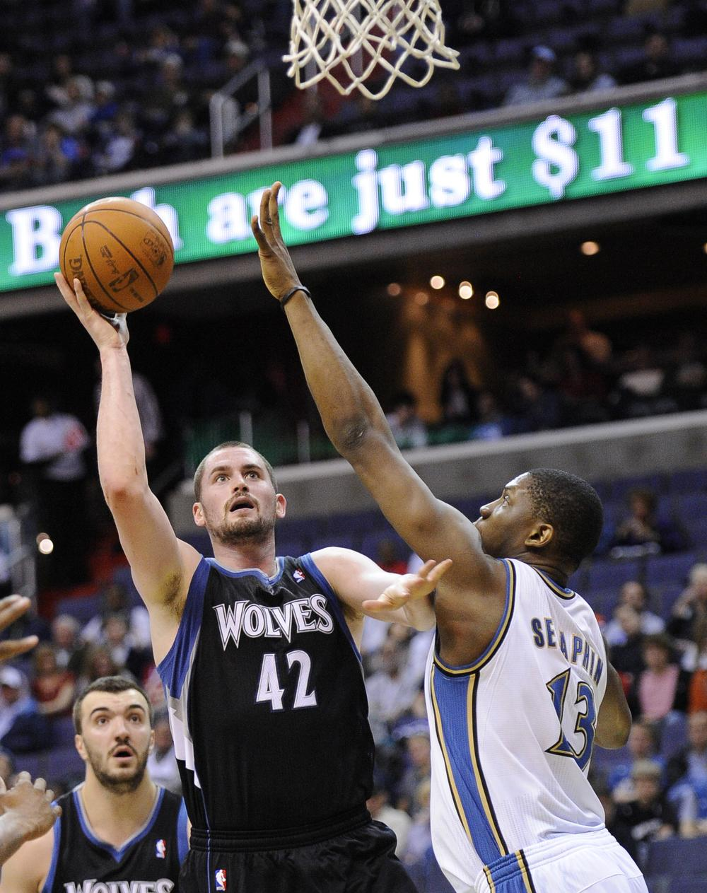 All-Star Kevin Love can't seem to pull the Minnesota Timberwolves out of their 22-year funk. (AP)