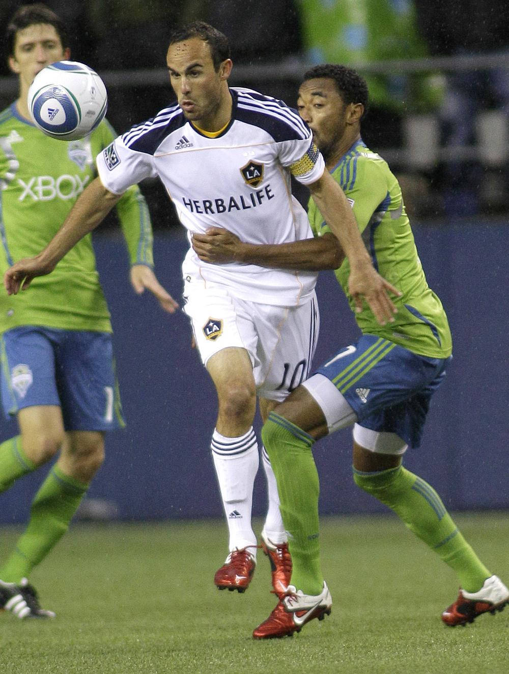 The Los Angeles Galaxy are chock full of superstars, including Landon Donovan and David Beckham. But will MLS ever have enough star power to be top of mind among American sports fans?. (AP)