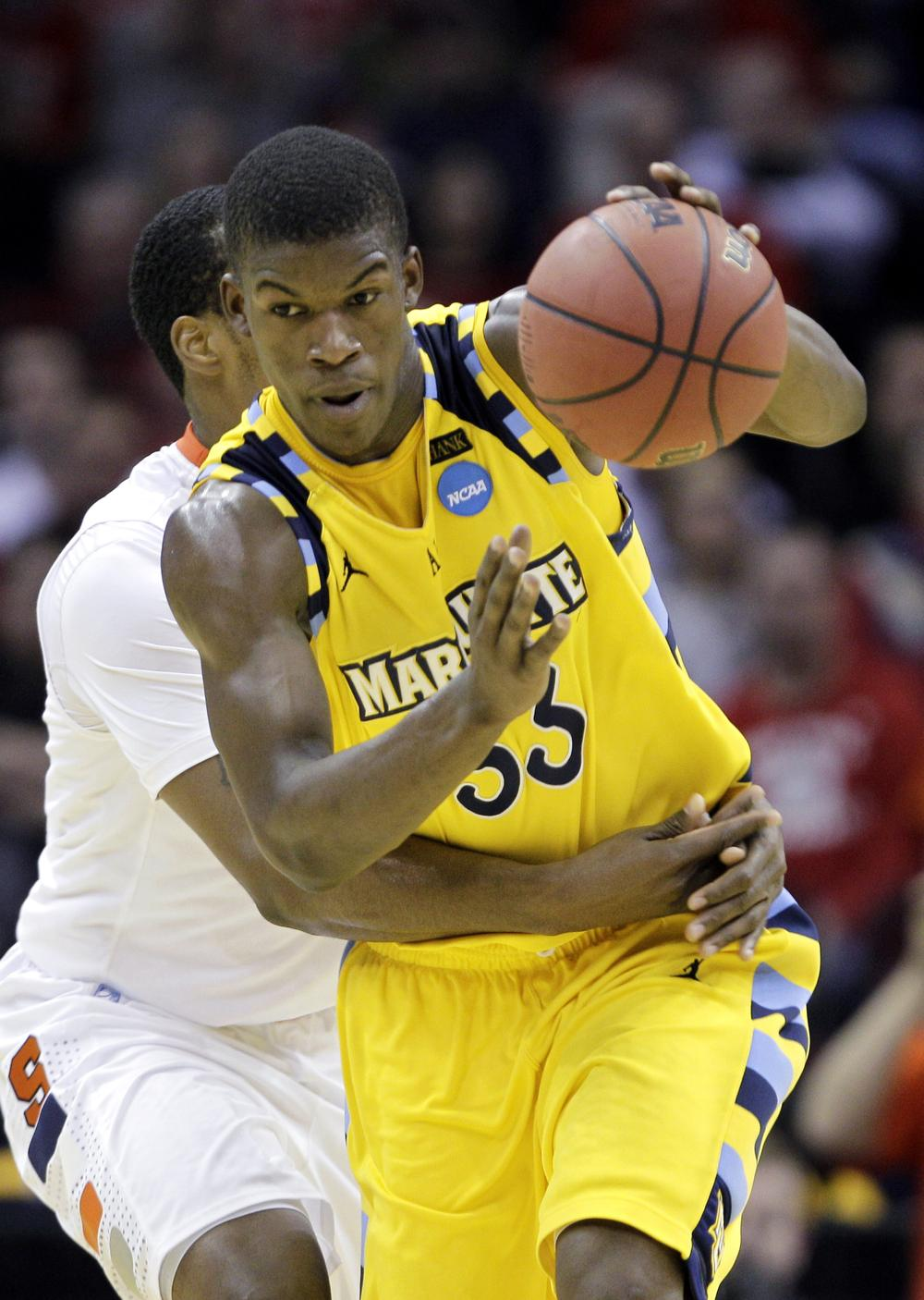 Marquette has been bracket busting all tournament. First against Xavier then against Syracuse. But do they have enough left in the tank to get past UNC? (AP)