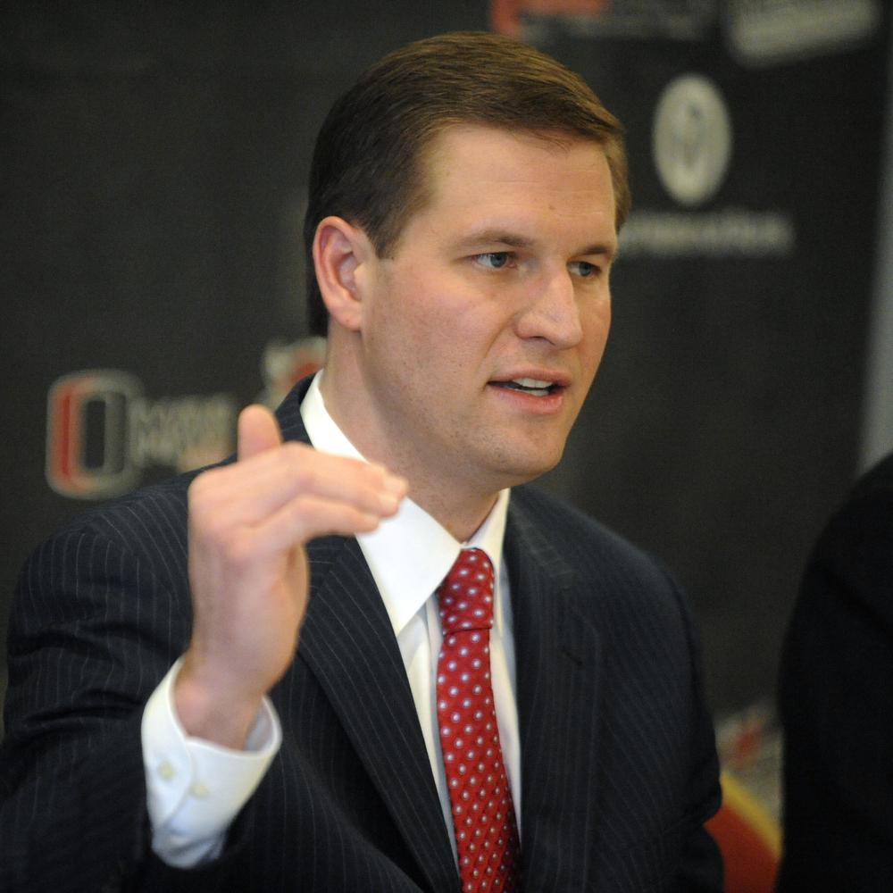 University of Nebraska at Omaha athletic director Trev Alberts cut the wresting program much to the dismay of the current champions. (AP)