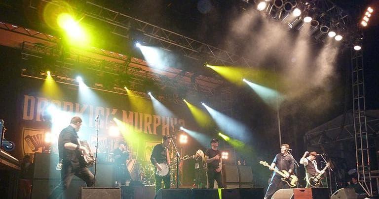 The Dropkick Murphys perform at the National Shamrock Festival in Washington, D.C. (Darkterp)