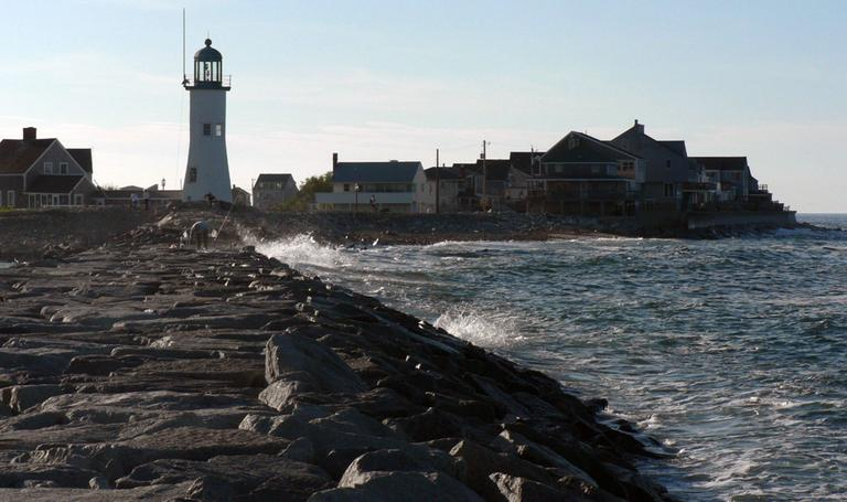 Resting on the Massachusetts coast, Scituate has seen its fair share of storms. (David W. Siu/Flickr)