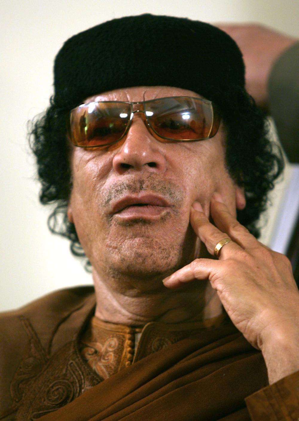 Libya's Moammar Gadhafi in 2007. (AP)