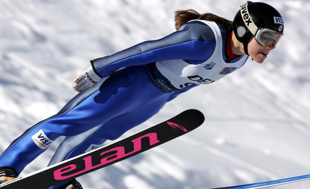 Now 26 years old, ski jumper Lindsay Van isn't sure she'll still be competing in 2014. (AP)