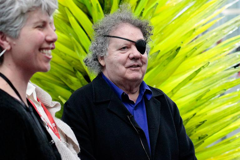 Glass artist Dale Chihuly (Andrea Shea)