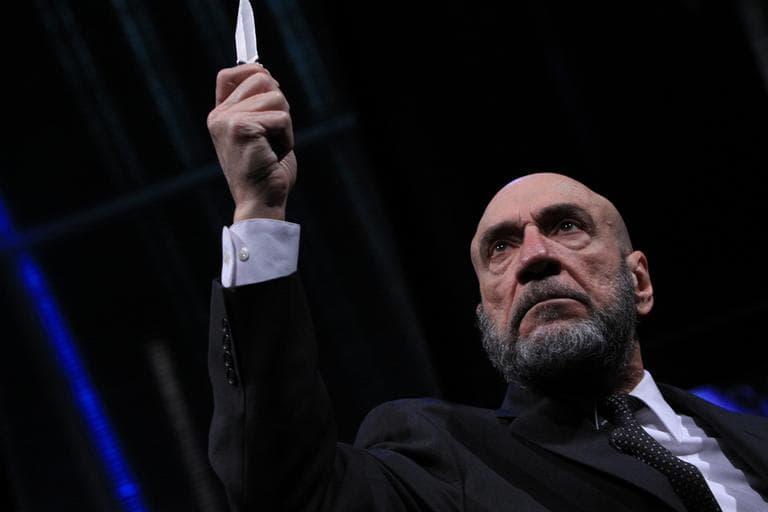 F. Murray Abraham as Shylock (Courtesy ArtsEmerson/Ashmont Media)