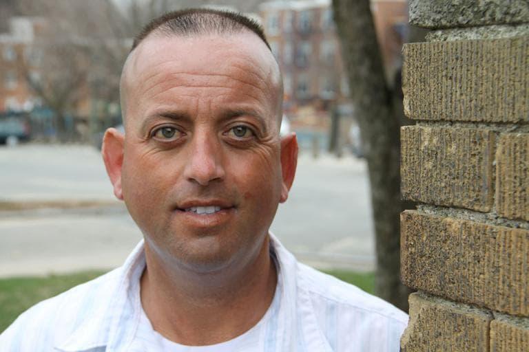 Somerville Police Detective Mario Oliveira (Kirk Carapezza for WBUR)