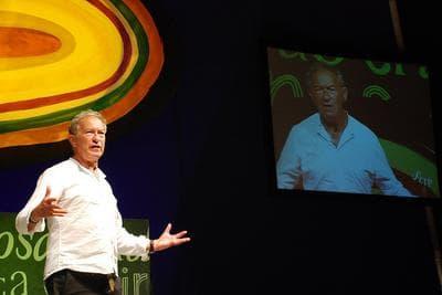 Simon Schama at a 2009 presentation (Monica Campi/Flickr)