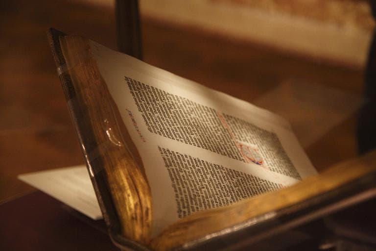 The Gutenberg bible (jmwk/Flickr)