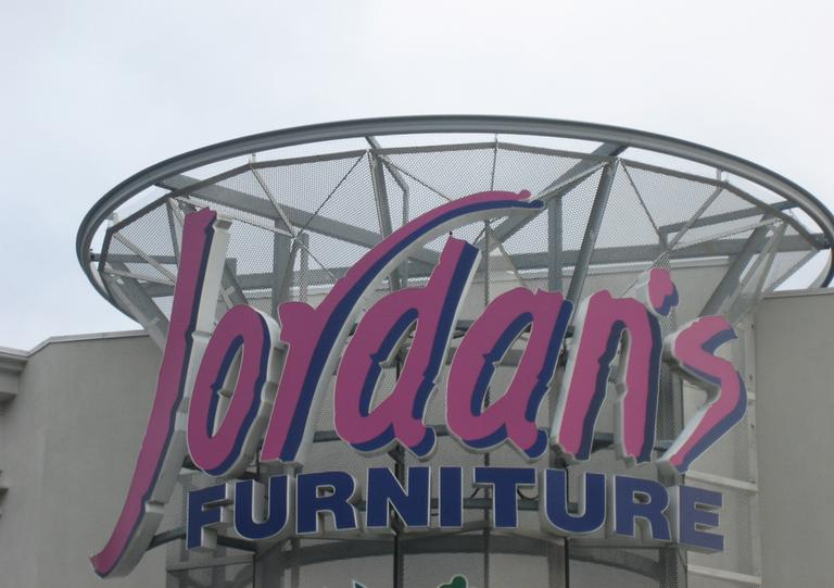 A local Jordan's Furniture location (bon_here/Flickr)