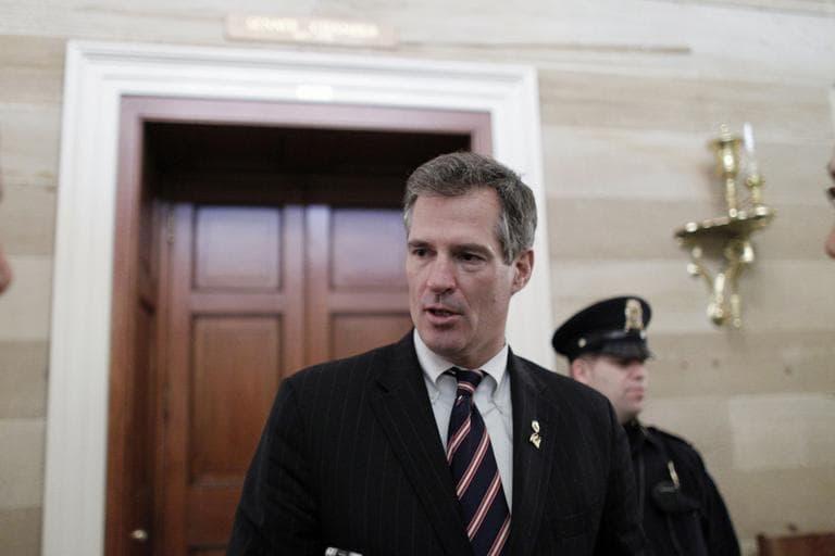 File photo, Sen. Scott Brown (AP)