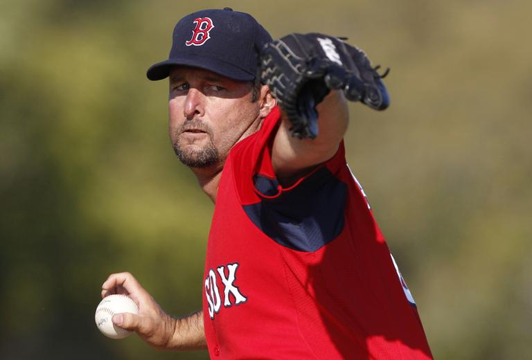 File photo, Tim Wakefield (AP)