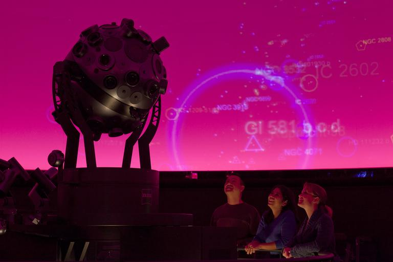 Some Boston nonprofits are seeing red as the City of Boston tries to use voluntary payments from them to get into the black. One institution on Mayor Menino's target list is the Museum of Science, shown here. (Courtesy of Michael Malyszko/Museum of Science)