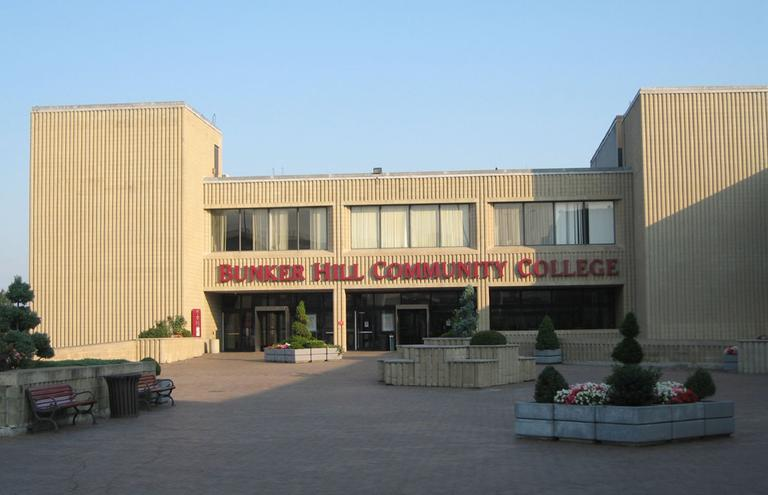 The entrance to Bunker Hill Community College (CC Chapman/Flickr)