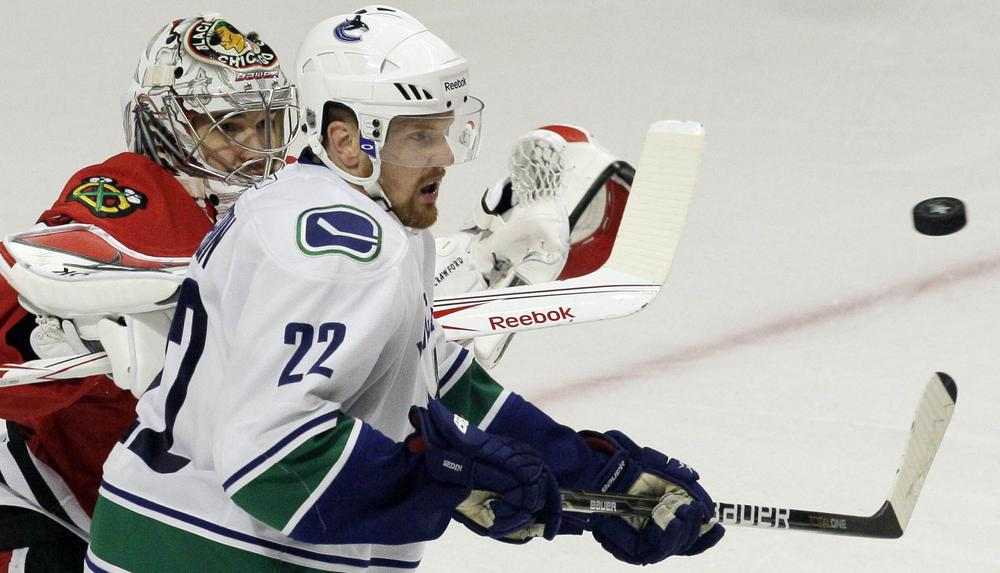It took seven games, but the Vancouver Canucks beat the Stanley Cup Defending Chicago Blackhawks. (AP)