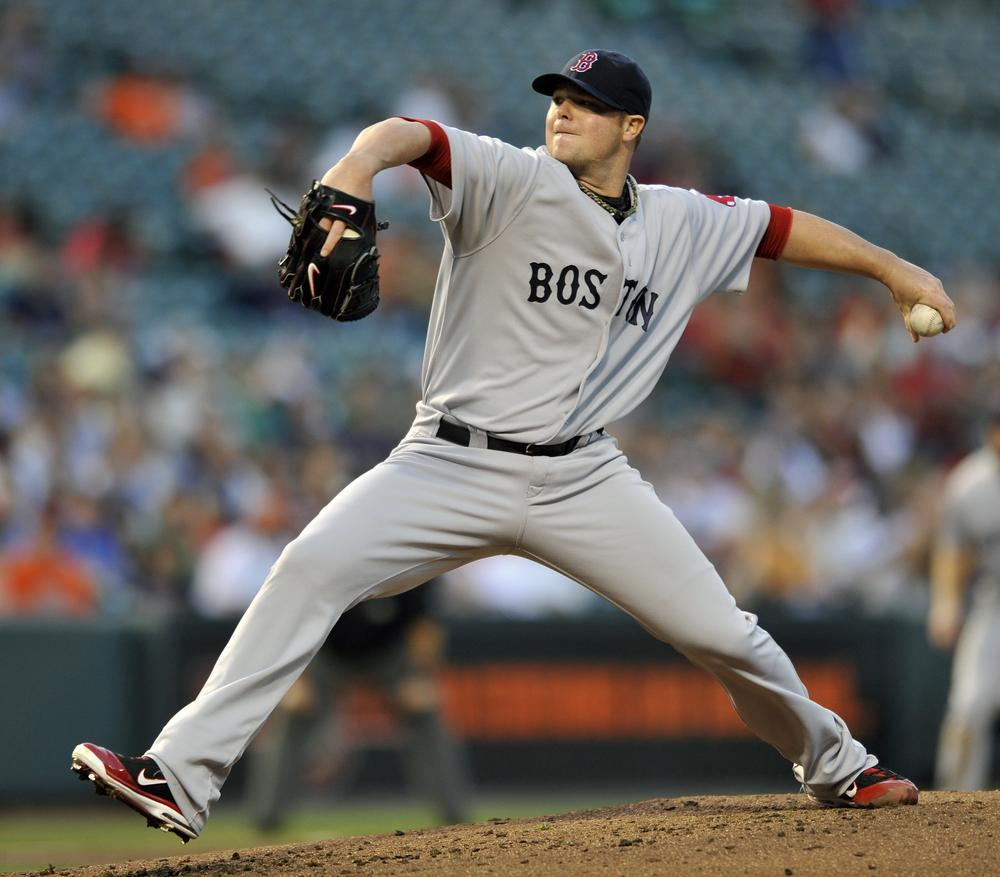 Sox pitcher Jon Lester delivers against the Baltimore Orioles in the second inning, Thursday, April 28, 2011 in Baltimore. (AP)