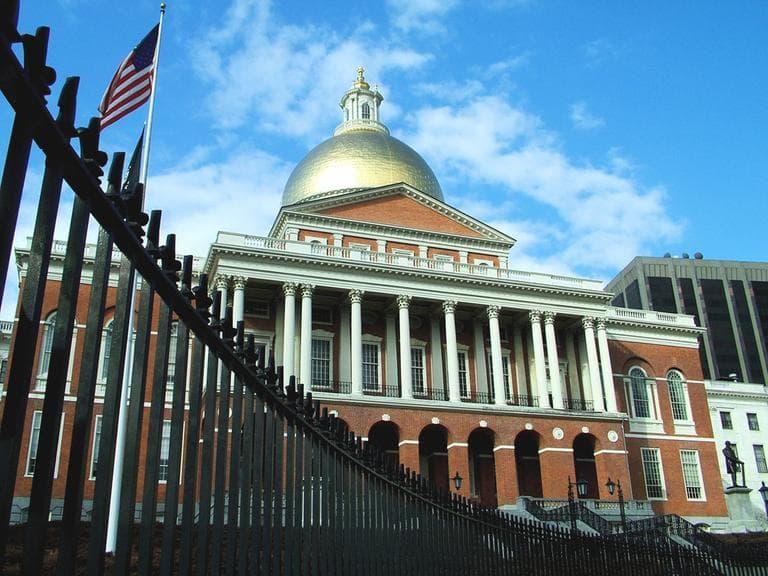 The Massachusetts State House on Beacon Hill. (koalie/Flickr)