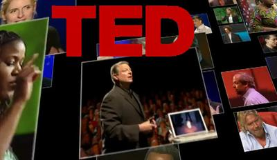Images from TED talks on YouTube.
