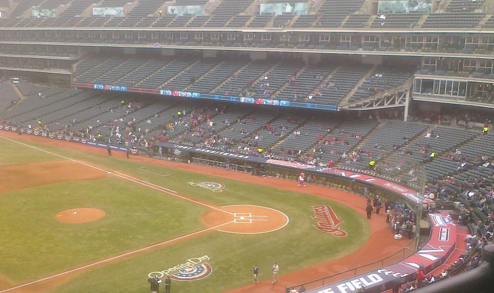 The Indians' average attendance for the 2010 season was a mere 22,357. (Eric Wellman)