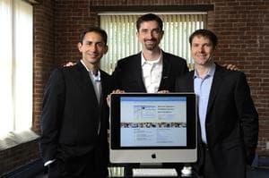 Patients Like Me founders (l-r):  Jeff Cole, Ben Heywood, Jamie Heywood