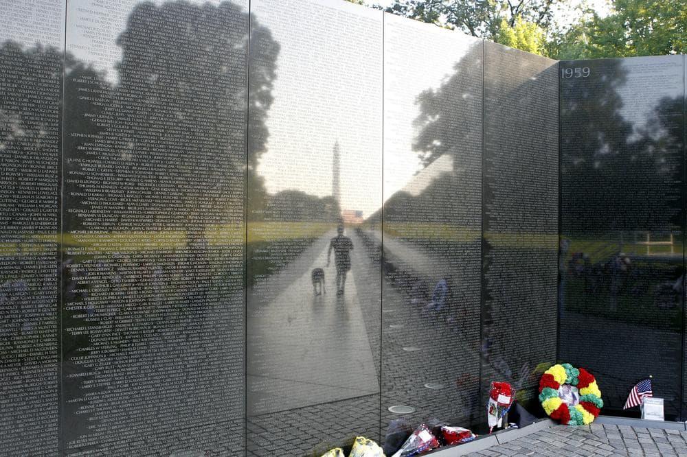 The Vietnam Veterans Memorial in Washington. (AP)