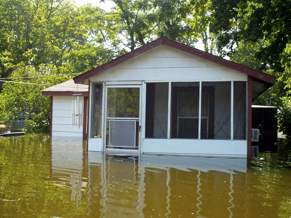 Flooded River Taking Aim At Mississippi Delta | WBUR News