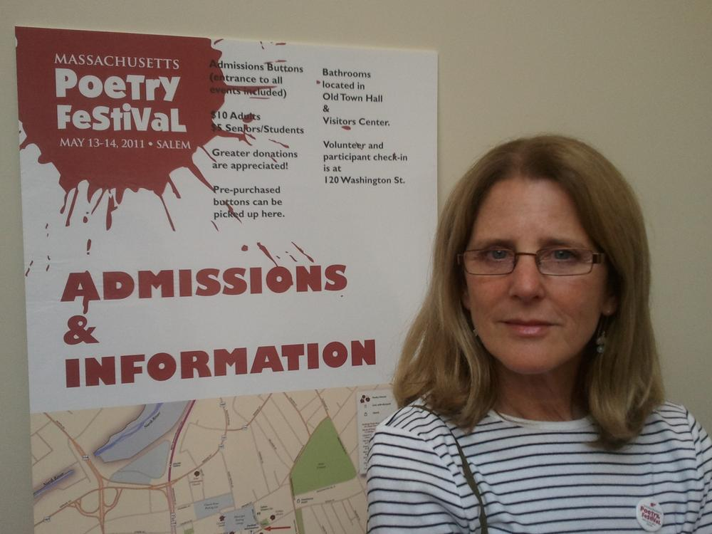 Amy Gorin of Massachusetts Poetry Festival (Mass Poetry)