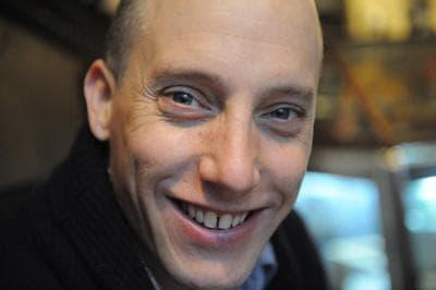 Author John Pollack. (David Turnley)