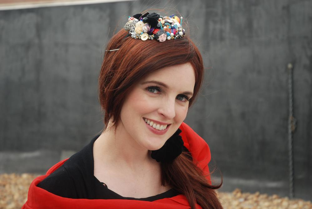 Singer Julie Feeney. (Robin Lubbock)
