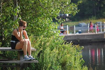 A WHO agency cities a possible link between brain cancer and cell phone use