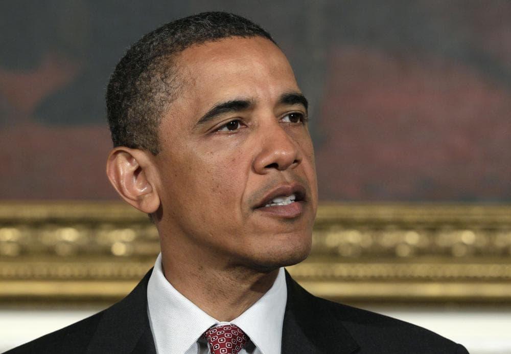President Barack Obama speaks in Washington, Tuesday. (AP)