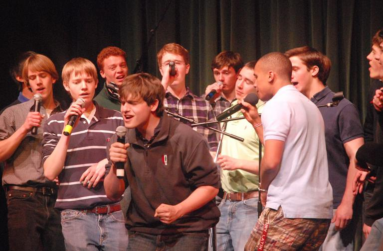 92a105e842b Real Life 'Glee': Getting Jocks To Sing | WBUR News