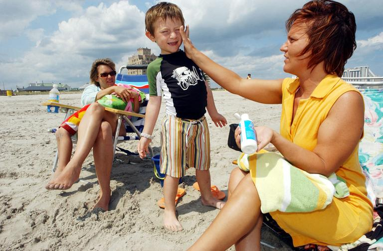 There are new rules for sunscreen. We'll take a look in hour one. (AP)