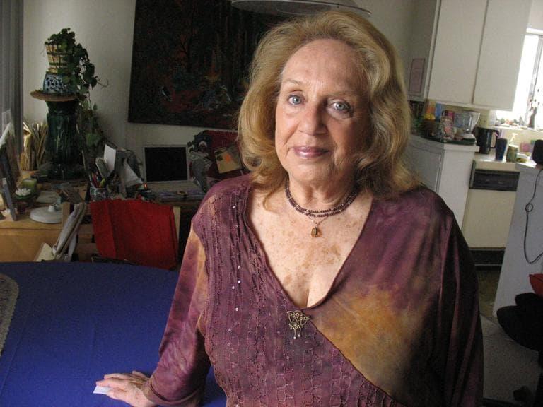 Barbara Gluck lived just down the hall from Bulger in California. (Monica Brady-Myerov/WBUR)