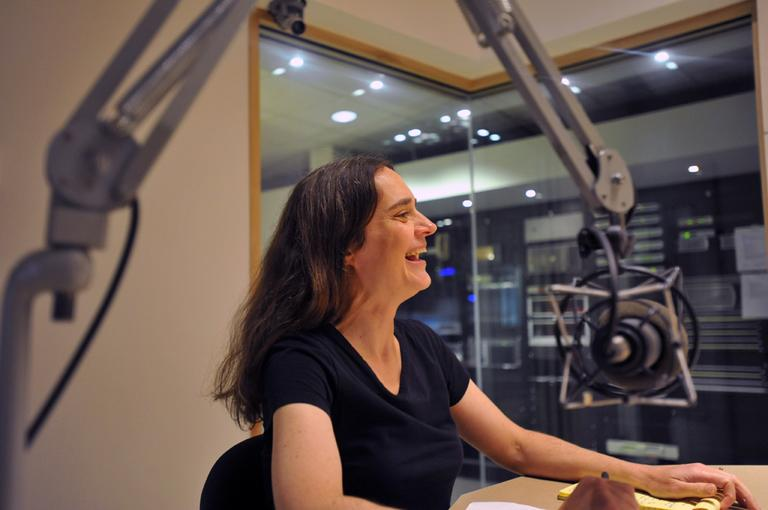 Heather Paxson, professor of anthropology at the Massachusetts Institute of Technology, in the studio and On Point. (Alex Kingsbury/WBUR)