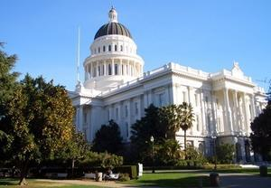 The state house in Sacramento