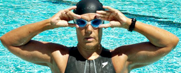 Swimmer Diana Nyad. (Photo Courtesy of Diana Nyad/Ron Baers)