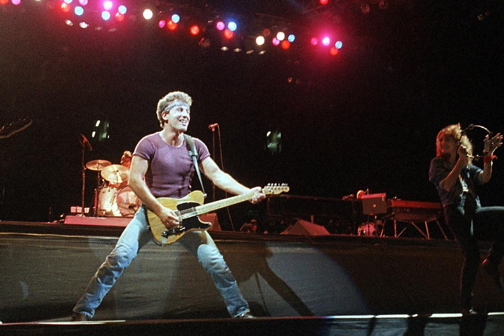 "Bruce Springsteen, shown here in 1985, released ""Glory Days"" on his album ""Born in the USA."" The song's opening verse is about a former high school baseball star, who until recently remained anonymous. (AP)"